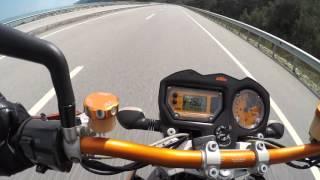 4. KTM 990 SuperDuke Top Speed  MoToBlog bathu R1 Vlog #80