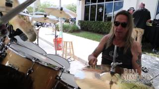 NICKO MCBRAIN SET UP AND WARM UP 04 27 2013