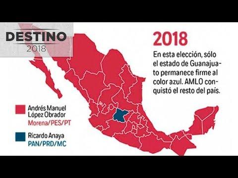 México se tiñe de guinda; Morena conquista congresos, gubernaturas y alcaldías