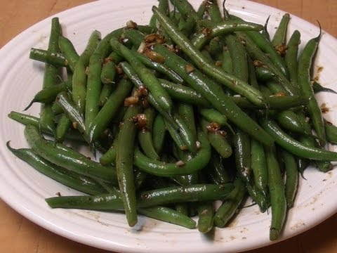Vegetarian Recipe: Easy Stir Fry Green Beans – Chinese Style