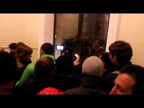 ХАРЬКОВ РУССКИЙ ГОРОД, 06.04.2014, Облгосадминистрация взята ... ОГА ... (видео)