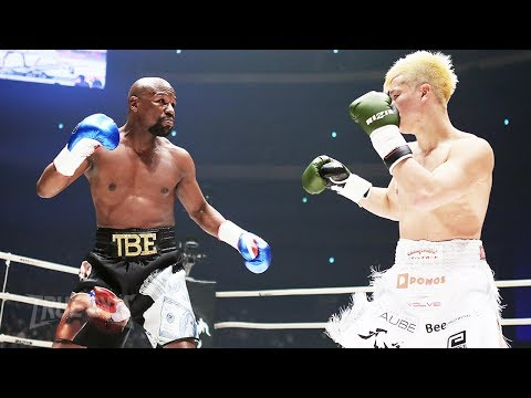 Флойд Мейвезер против Теншина Нацукава полный бой / Floyd Mayweather vs Tenshin Nasukawa FULL FIGHT