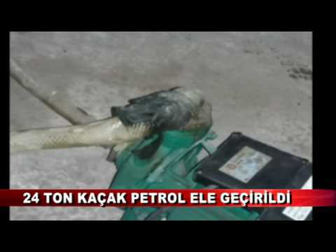 24 Ton Kaçak Petrol Ele Geçirildi