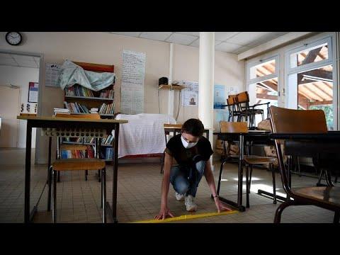 Γαλλία: Ανοίγουν τα σχολεία με ειδικό καθεστώς