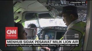 Video Menhub Sidak Pesawat Milik Lion Air Boeing 737 Max 8 MP3, 3GP, MP4, WEBM, AVI, FLV Desember 2018