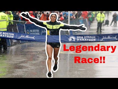 Desiree Linden Wins The 2018 Boston Marathon