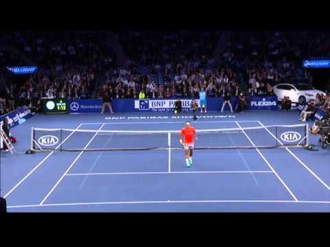 神童級的12歲網球王子~~連費德勒都被其爆發力震攝住了!~