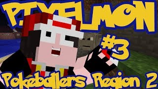 Minecraft Pixelmon: Pokeballers Server Region 2 - Episode 3 - GEODUUUDE!