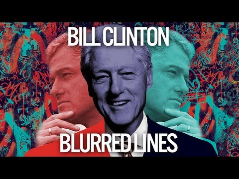Bill Clinton Singing Blurred Lines by Robin Thicke
