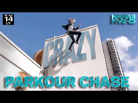 Hawaii Five-0 Parkour Chase with Jesse La Flair