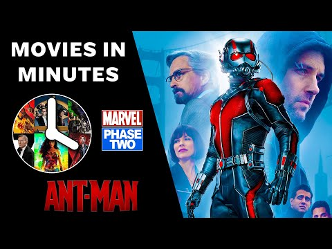 Ant-man In 4 Minutes - (marvel Phase Two Recap)