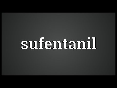 Sufentanil Meaning