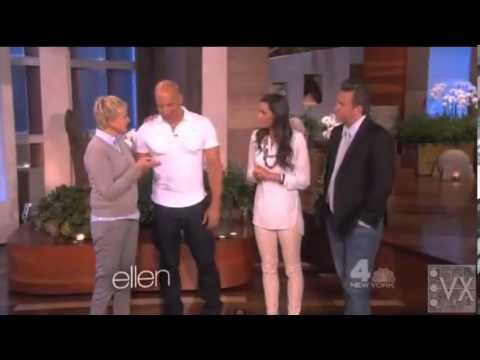 Vin Diesel - Vin Diesel on the Ellen Show April 2013 visit www.VinXperience.net for more news, pictures and video of Vin Diesel.