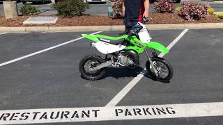 10. Contra Costa Powersports-Used 2018 Kawasaki KX65 kiddie MX racer dirt bike