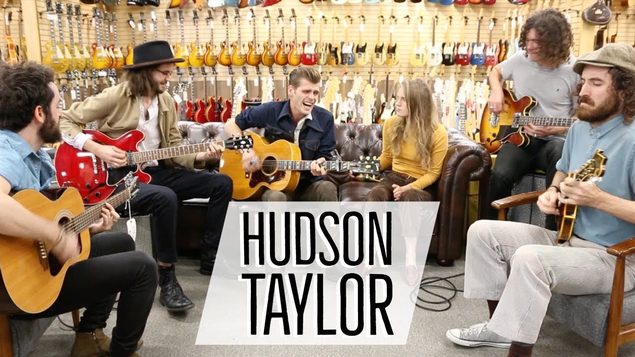 Hudson Taylor at Norman's Rare Guitars | 1957 Gibson J-185N