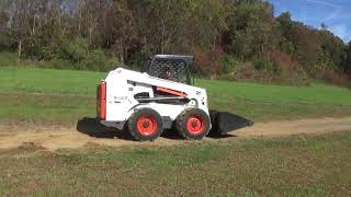 7. 2012 BOBCAT S630 SKID STEER WITH BACKHOE, SJC CONTROLS, 74 HP!
