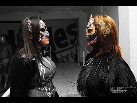 Keira vs Diosa Quetzal   ¡¡¡ MÁSCARA vs MÁSCARA !!! (видео)