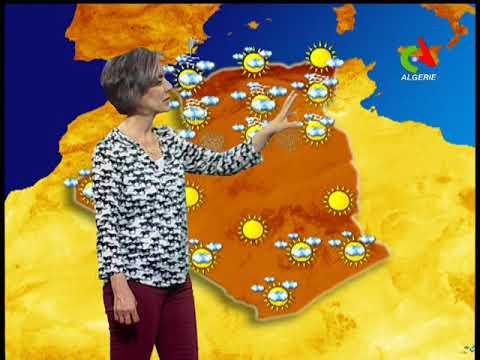 Retrouvez la météo du mardi 13 novembre 2018 sur Canal Algérie