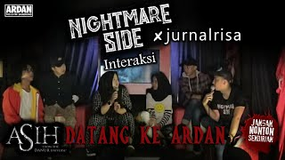 Video NIGHTMARESIDE X JURNAL RISA INTERAKSI – ASIH DATANG KE ARDAN MP3, 3GP, MP4, WEBM, AVI, FLV Maret 2019