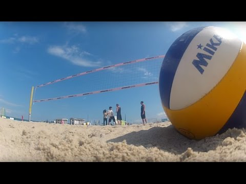 AOK: Beach-Volleyball!