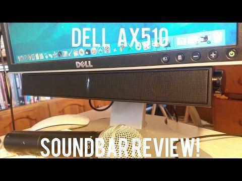 Dell AX510 Soundbar Review