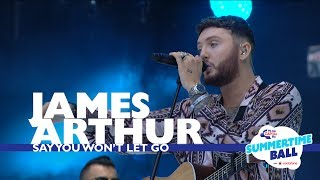 download lagu download musik download mp3 James Arthur - 'Say You Won't Let Go' (Live At Capital's Summertime Ball 2017)