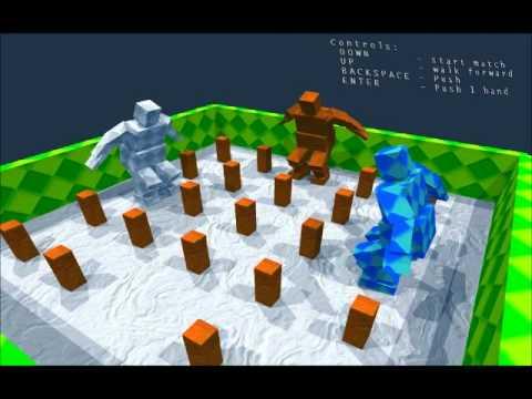 sumotori gameplay part 1: MODS!