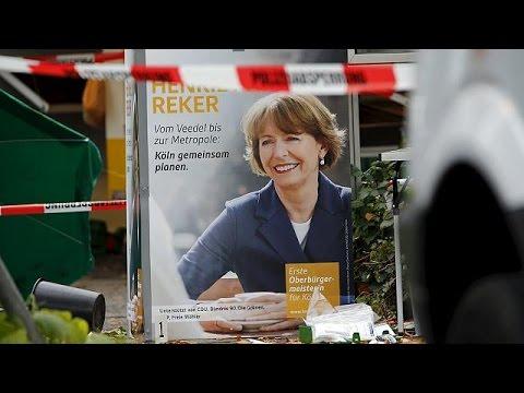 Γερμανία: Μαχαίρωσαν υποψήφια δήμαρχο της Κολωνίας