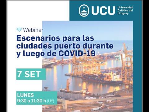 Escenarios para las ciudades puerto durante y luego del COVID-19