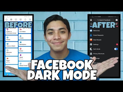 Facebook Dark Mode 2020 Updated | How to Enable on IOS and ANDROID