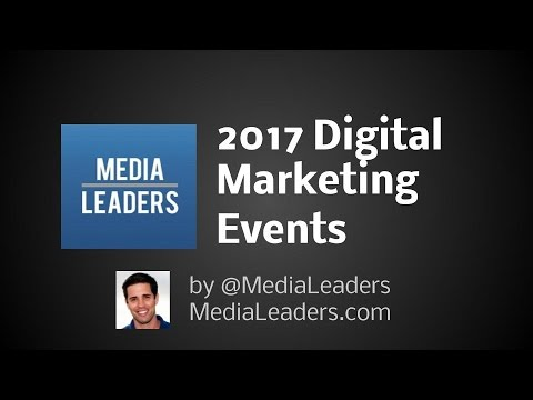 2017 Digital Marketing Events (Marketing Guide)