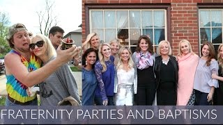 We fly to Lexington Ky for my brother's Frat party and a shower thrown for me by the Miss Kentucky Organization!! I also show you how to host a great party and how to do a beautiful DIY flower display. And soooooooo much more!!!! Hope  you love it!! Please give it a thumbs up and SUBSCRIBE!!Product Links:Vases: Dollar TreePink Pant Suit: TargetDress: http://rstyle.me/n/b4g32mbyr9pEye Necklace: http://rstyle.me/n/cj4vjibyr9pDroplet Necklace: http://rstyle.me/n/cj4vkmbyr9pNude Sandals: http://rstyle.me/n/cmhyg3byr9pSilver Jacket: http://rstyle.me/n/cmz8dbbyr9pLipstick With Silver Jacket: http://rstyle.me/n/cmz8fibyr9p (shade: B%#$* Perfect)White Lace Shirt: http://rstyle.me/n/cmz8dzbyr9pBag: http://rstyle.me/n/cmz8eubyr9pSequin Blazer: http://rstyle.me/n/cmz8dbbyr9pSequin Skirt: http://rstyle.me/n/b4g32mbyr9pCami: http://rstyle.me/n/cmz8gpbyr9pMy Links:Blog: http://malloryervin.comInstagram: @malloryervinSnapchat: malloryervinTwitter: @malloryervinFacebook: @TheOfficialMalloryErvin and @malloryervinPinterest: malloryervinKyles Instagram: @kyledimeola