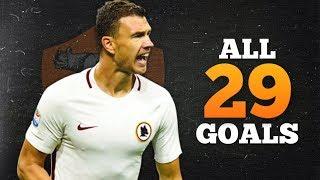 Video Edin Dzeko ● All 29 Goals in Serie A ● 2016/17|AS Roma|HD MP3, 3GP, MP4, WEBM, AVI, FLV Agustus 2018