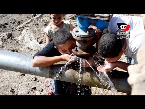 «على طريقة فؤادة والهاويس».. أهالى بالدقهلية يفتحون خط مياه بعد قطعه عنهم