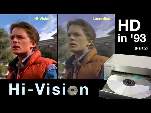 Hi-Vision Laserdisc - HD In '93 (Part 2)