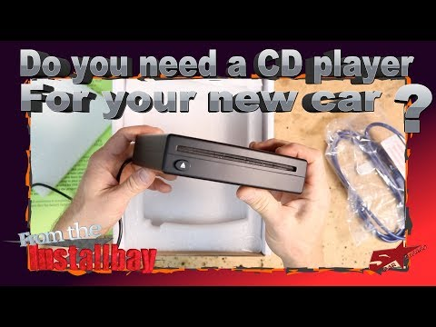 Do you need to add a CD player to your new car that did not come with one?