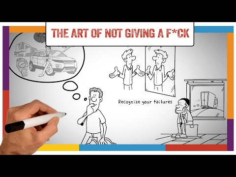 Watch 'The Subtle Art of Not Giving a F*ck Summary & Review (Mark Manson) - ANIMATED - YouTube'
