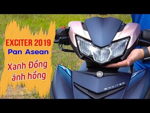 Exciter 150 2019 DOXOU Pan Asean Xanh Đồng ánh hồng ▶ Đánh giá chi tiết màu lạ! - Thời lượng: 12 phút.
