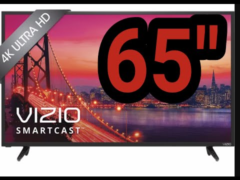 VIZIO 65 INCH 4K UHD E-SERIES TV model E65u-D3