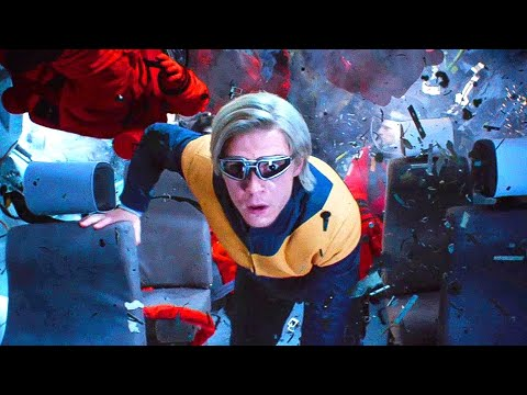 Top 10 Most Badass Quicksilver Scenes