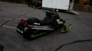 6. FOR SALE 2001 Arctic Cat Mountain Cat 600 EFI Snowmobile with low 1,655 Miles! Asking $2,099!