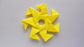 Modular Origami Star Tutorial | How to make simple & easy paper star