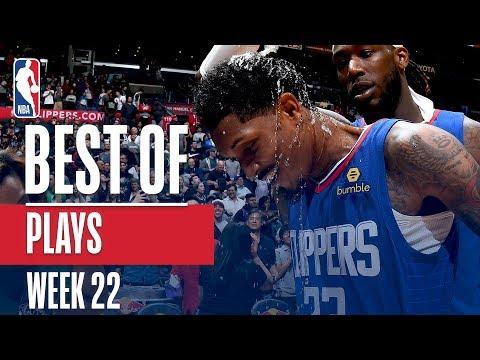 NBA's Best Plays   Week 22