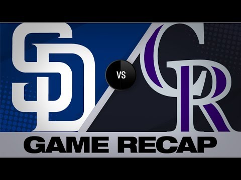 Video: Arenado, Story lead Rockies to a 10-8 win | Padres-Rockies Game Highlights 9/13/19