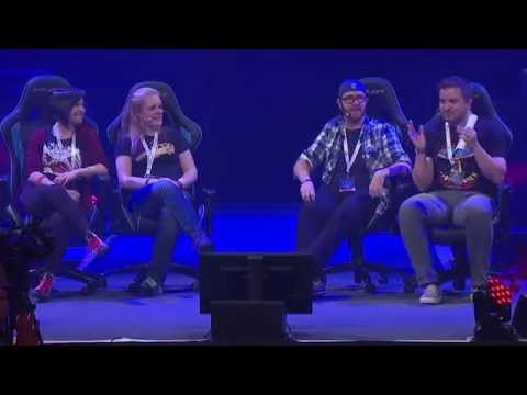 Where - Hannah, Sjin, Kim and I take to the main stage at i52 and answer some of the best questions from a list of the worst (only joking...they were all gold). This is part 2 of 3 so stay tuned for...