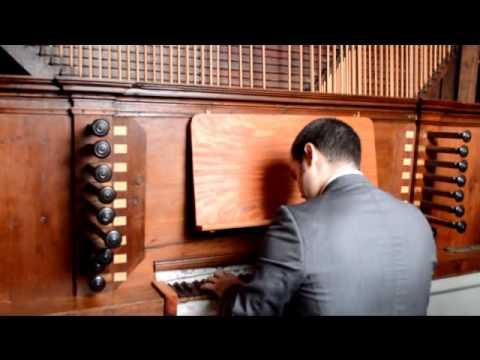 Órgão da Igreja do Carmo - Diamantina - Minas Gerais - Brasil