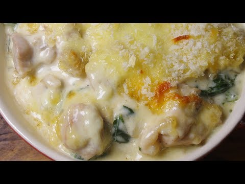 How To Make Cream Cheese Chicken & Spinach Gratin - Recipe