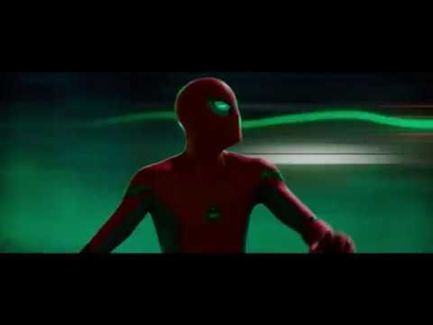 Spider-Man: Far From Home (2019) Peter Parker Vs Mysterio illusion Scene