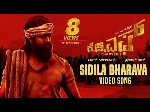 Sidila Bharava Full Video Song | KGF Kannada Movie | Yash | Prashanth Neel | Hombale Films