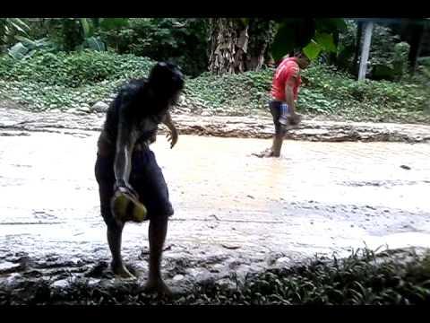 peleas en lodo